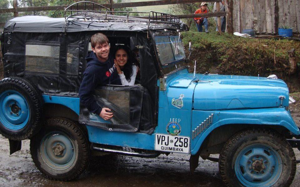 Tanael Michel_Team_Latin America Tours_Willys Jeep_ Valle de Cocora_Kolumbien