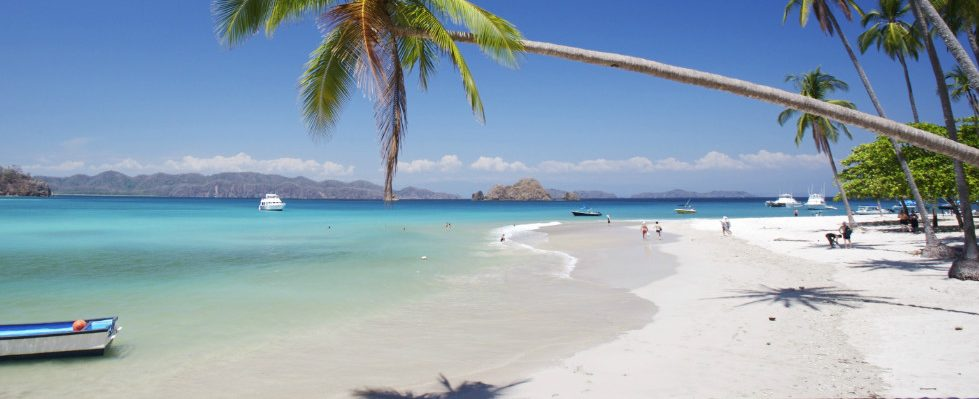 Costa Rica_Reise_Isla Tortuga_Golf von Nicoya_Strand_Palmen