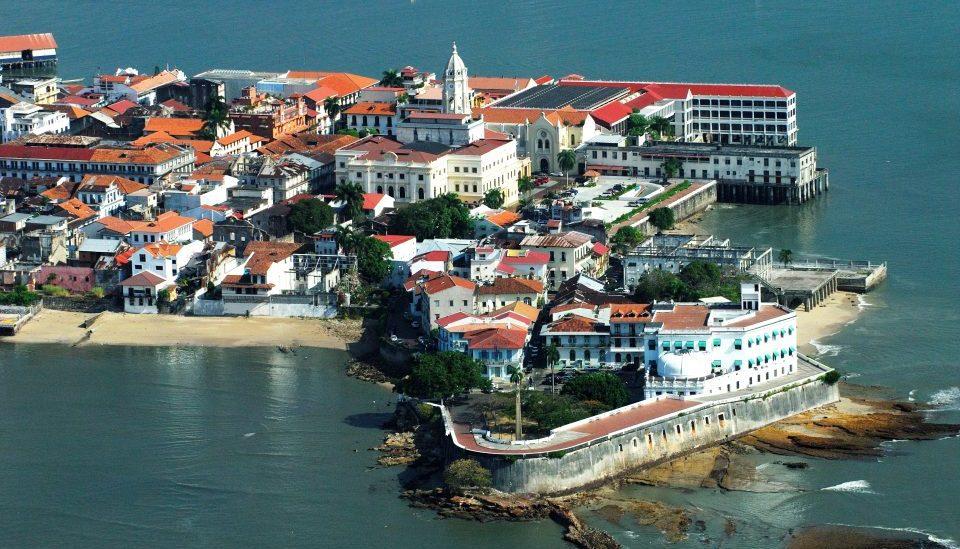 Panama_Casco Antiguo_Luftaufnahme_Reisen