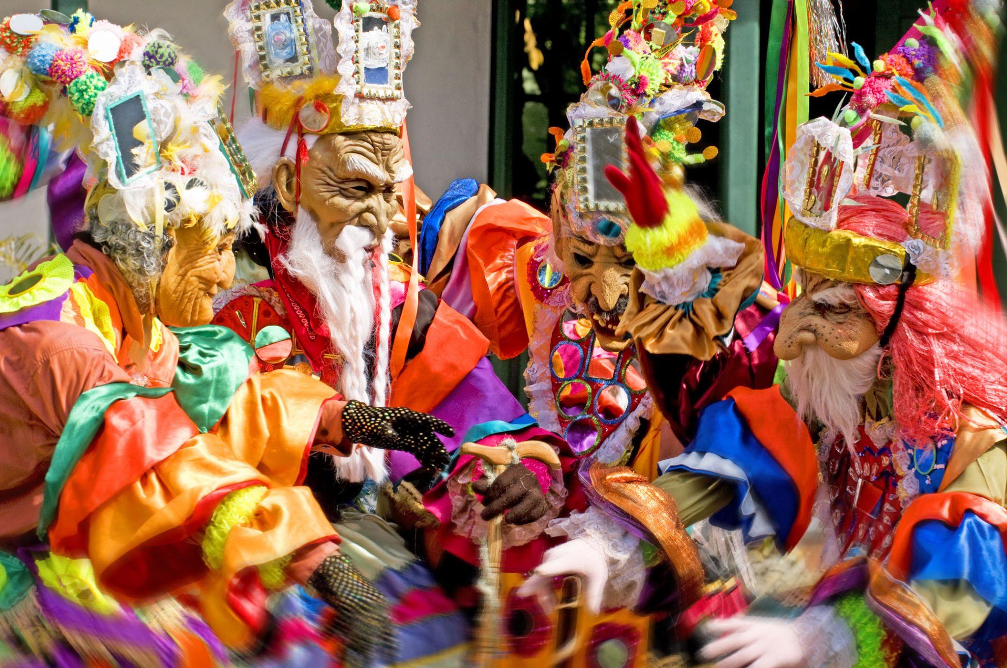 Panama_Diablos Espejos_Karneval_Reisen
