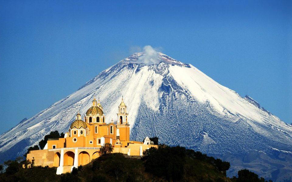Mexiko_Mexico_Vulkan_Puebla Cholula_Reisen