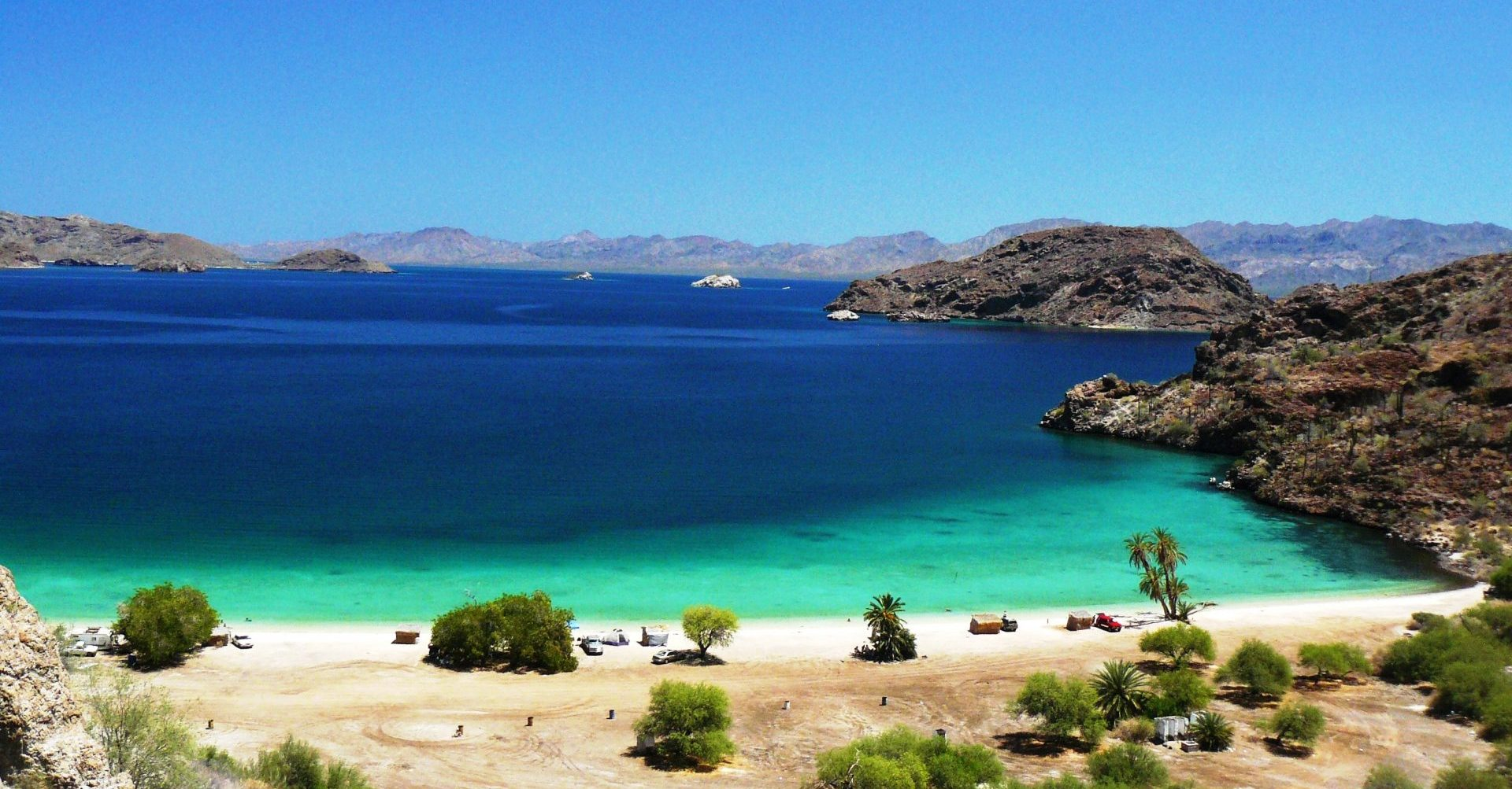 Mexiko_Baja California_Bucht_tuerkisblaues Meer_Reisen