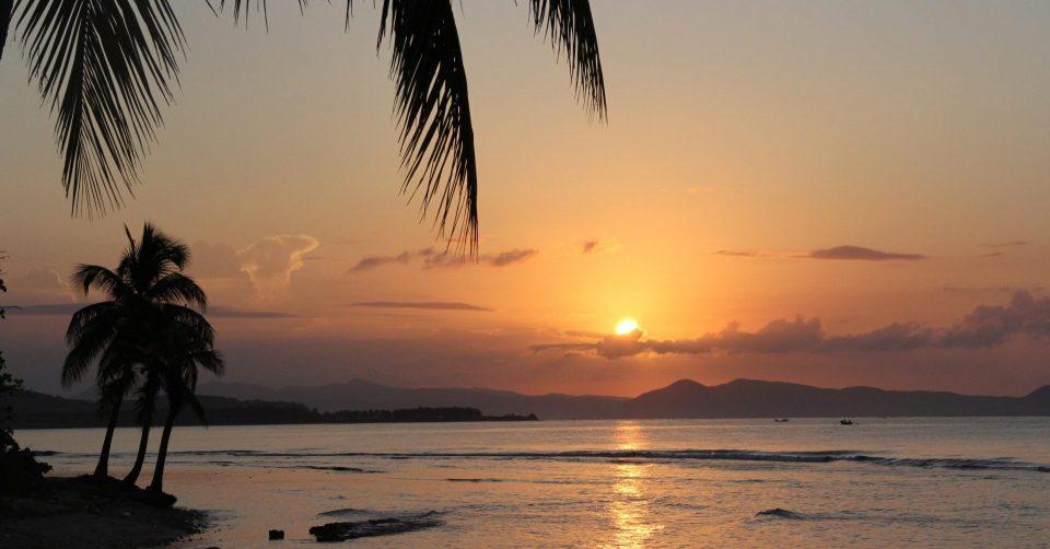 Haiti_Strand_Sonnenuntergang_Reisen