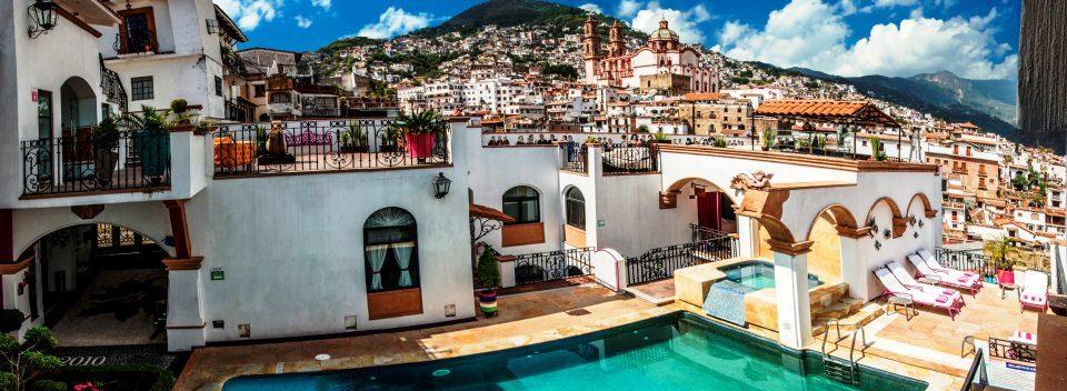 Mexiko_Mexico_Hochland_Pueblo Lin do Taxco_Hacienda_Reisen