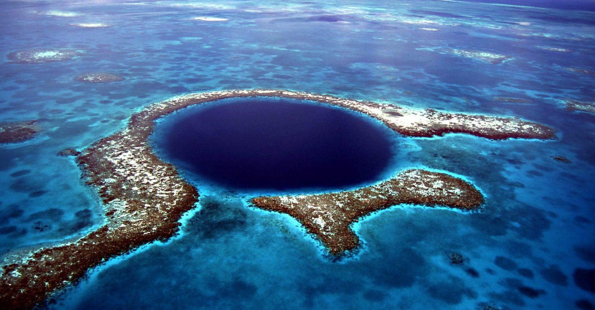 Belize, Blue Hole, Meer, Reisen