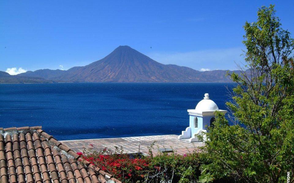 Guatemala, Panajachel, Lago Atitlan, See, Vulkan, Reisen