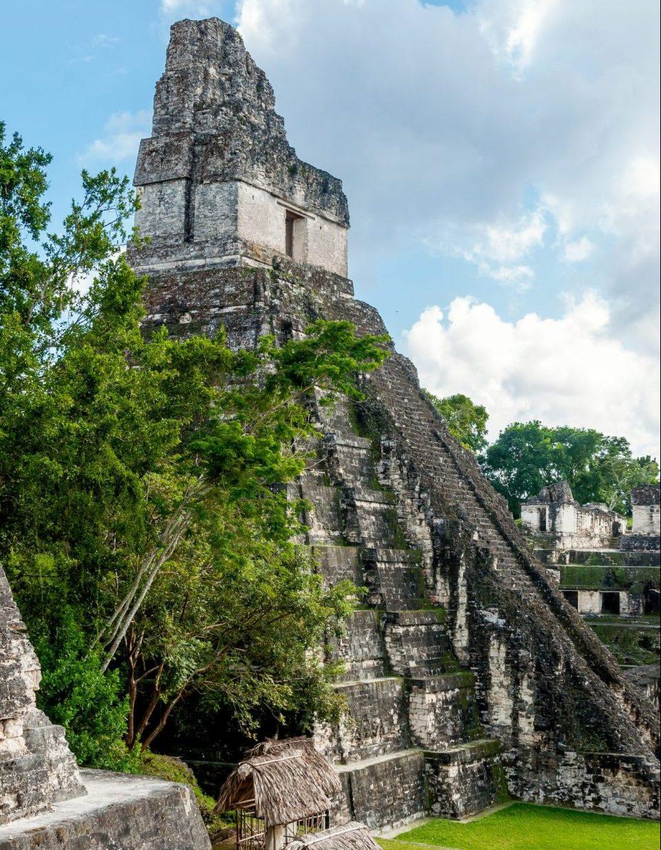 Guatemala, Tikal, Maya Tempel, grosse Pyramide, Reisen