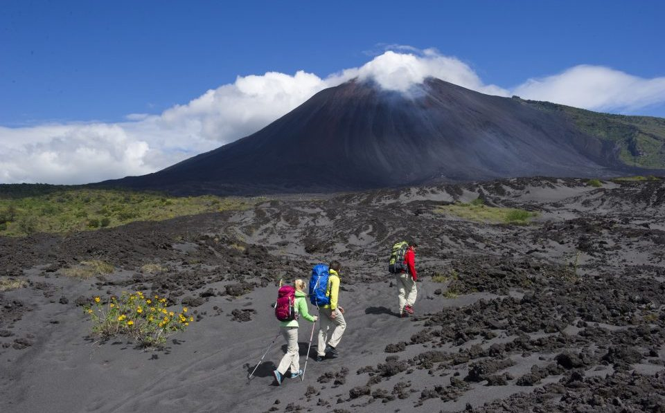 Guatemala, Vulkan Pacaya, Wanderer, Reisen