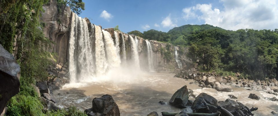 Guatemala, Wasserfälle Los Amates, Reisen