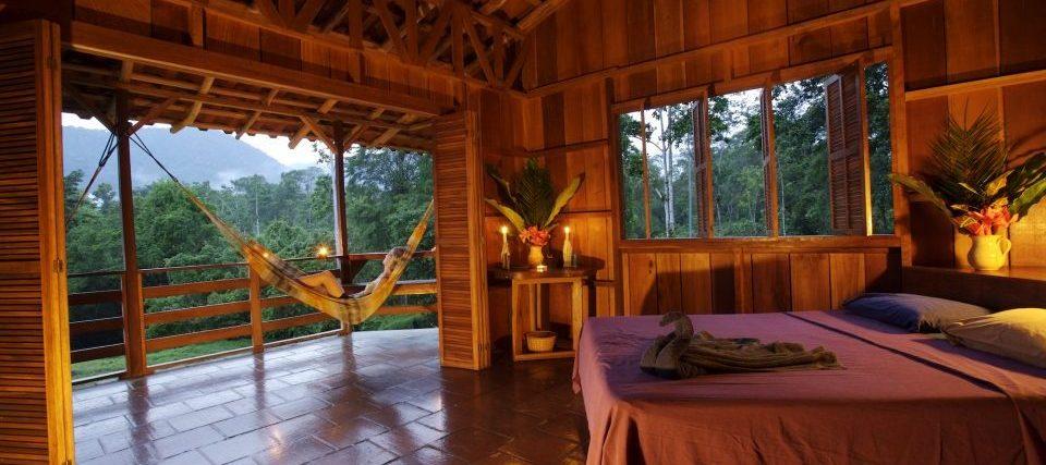 Costa Rica, Selva Bananito Lodge, Zimmer mit Aussicht auf die Terrasse, Latin America Tours, Reisen