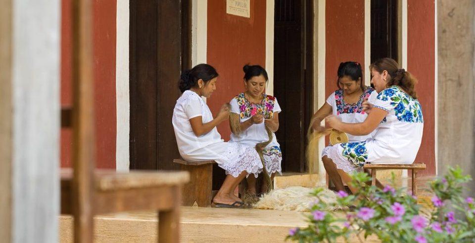 Mexiko,Hacienda Santa Rosa, Frauen Kunsthandwerk, Latin America Tours, Reisen