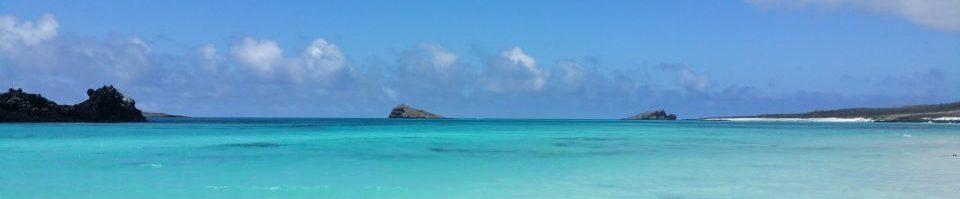 Ecuador, Galapagos, türkisblaues Meer, Latin America Tours, Reisen