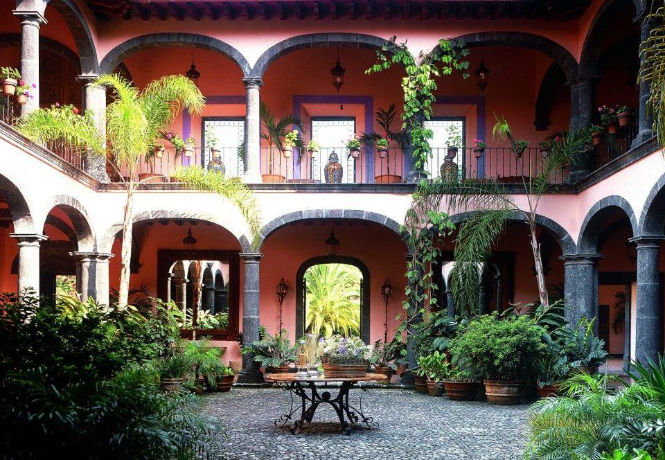 Mexiko, Hacienda San Antonio, Innenhof, Comala in Colima, Latin America Tours, Reisen