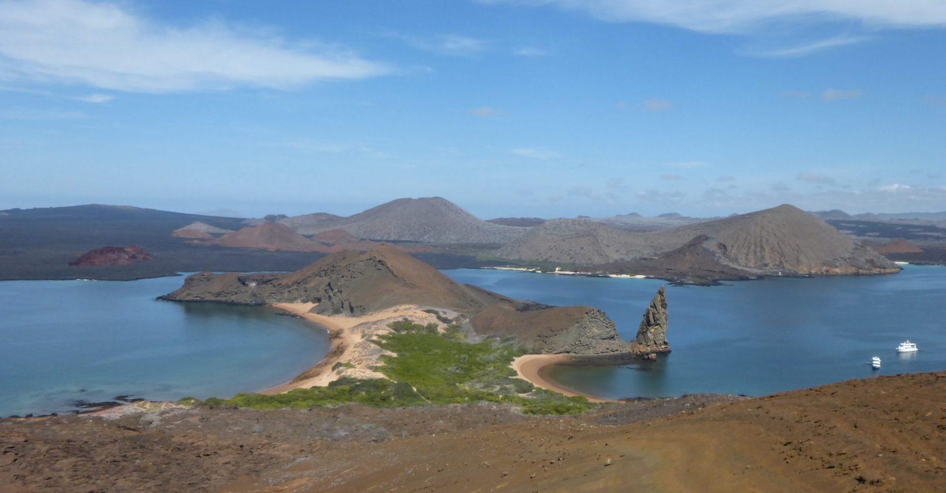 Ecuador, Galapagos Inseln, Ansicht von oben, Latin America Tours, Reisen