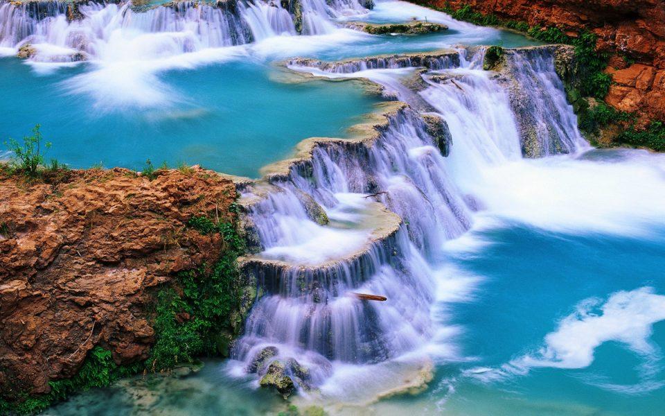 Mexiko, Agua Azul Wasserfälle, Chiapas, Latin America Tours, Reisen