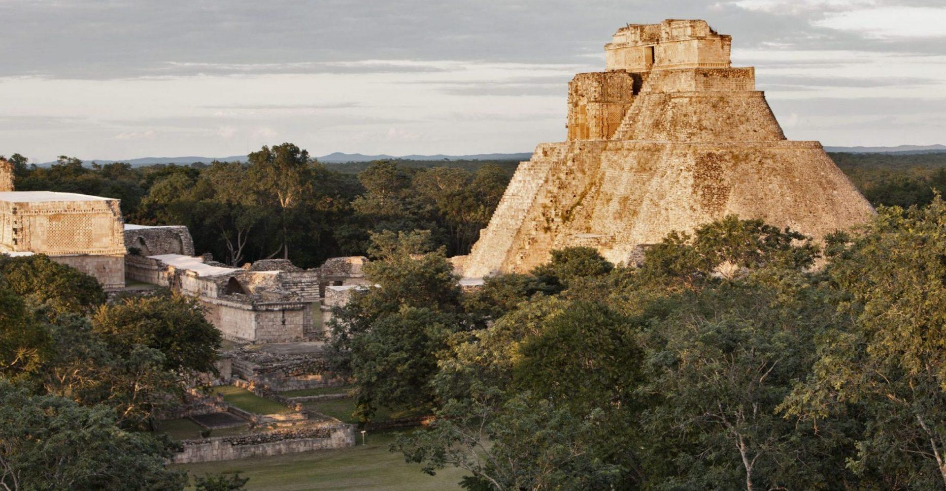 Mexiko, Uxmal Maya Pyramide, Latin America Tours, Reisen
