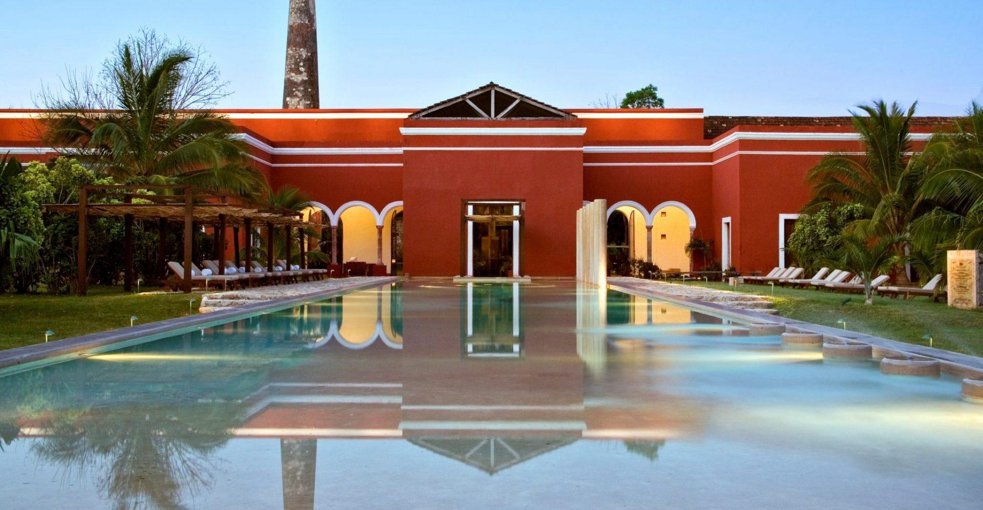 Mexiko, Hacienda Temozon, Pool, Latin America Tours, Reisen