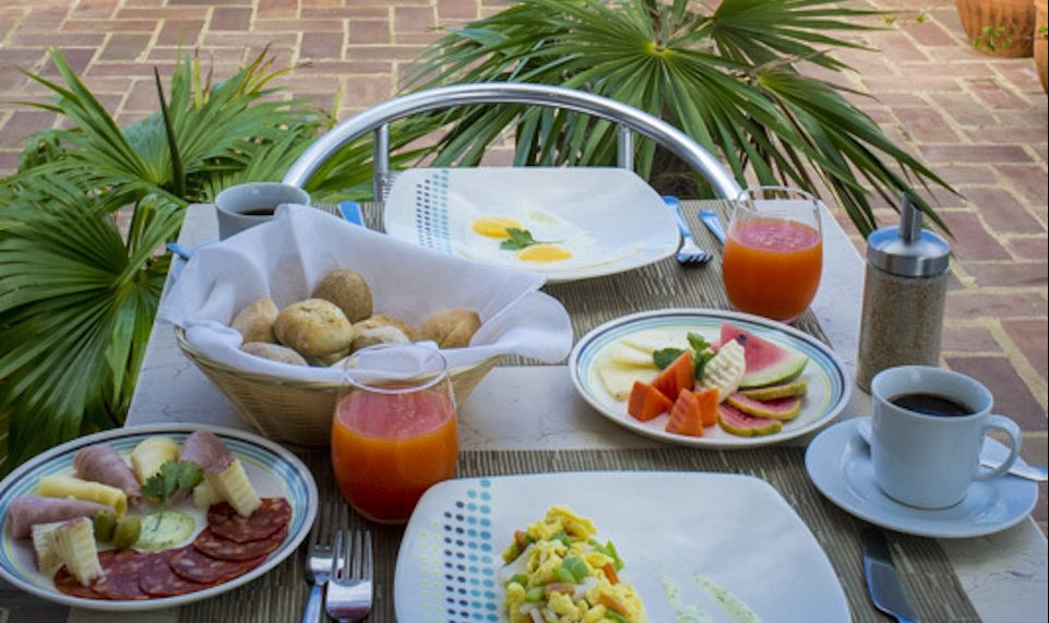 Kuba, Havanna, Loft Habana, Frühstück auf der Dachterrasse, Latin America Tours, Reisen