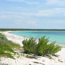 Dominikanische Republik, Bucht Strand Bahia de las Aguilas in Barahona im Südwesten der Dom Rep, Latin America Tours, Reisen
