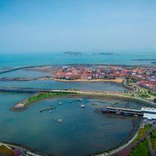 Panama, Cinta Costera, Hafenpromenade, Latin America Tours, Reisen